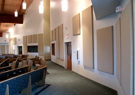 Professional Acoustical System in a Church